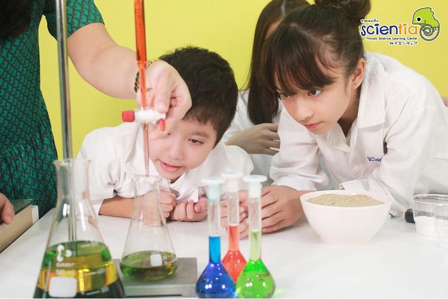 วิทยาศาสตร์ ประถม Scientia